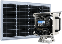 a photoSentinel premium package with solar panel