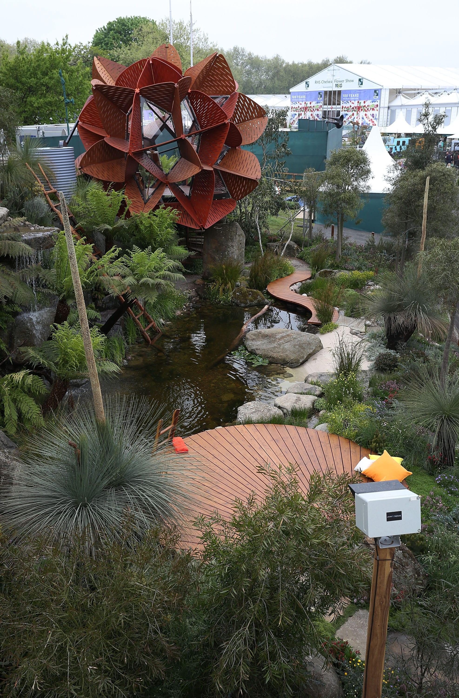 photoSentinel Pro overlooks the award-winning garden
