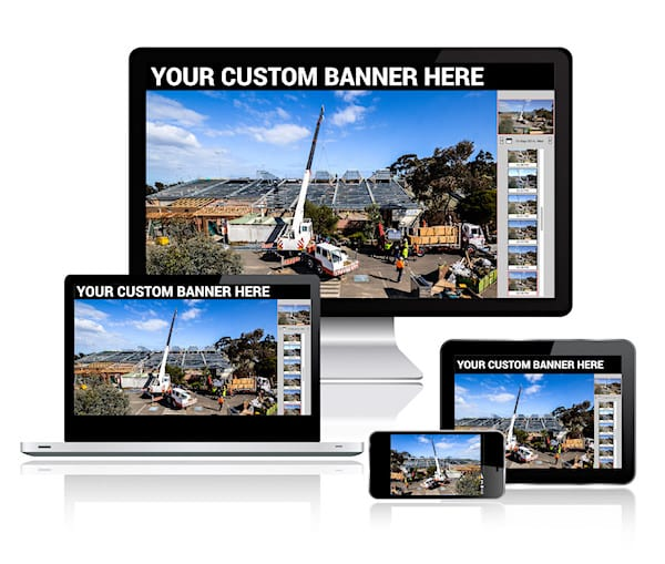 The customizable HTML 5 gallery on different devices