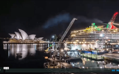 Sydney Opera House and Harbour Bridge in long-term timelapse