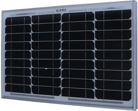 A wide solar panel for long-term timelapse units