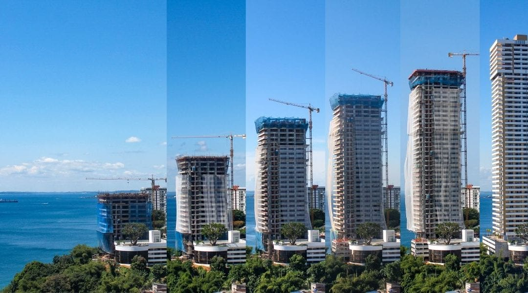 Amazing Skyscraper Construction Time Lapse Video