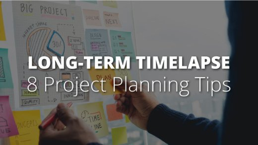 Title Image - 8 Construction Timelapse Project Planning Tips
