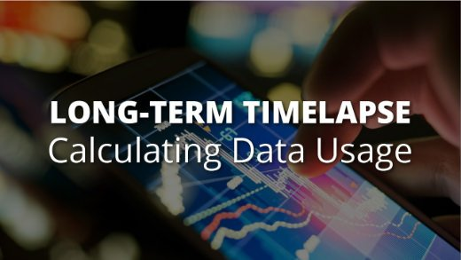 Title Image - Calculating data usage for long-term construction timelapse