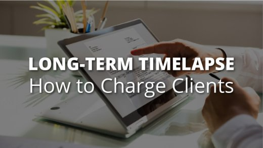 Title Image - How to charge clients for construction timelapse