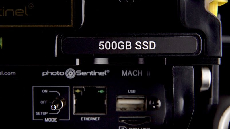 a photoSentinel 500gb SSD